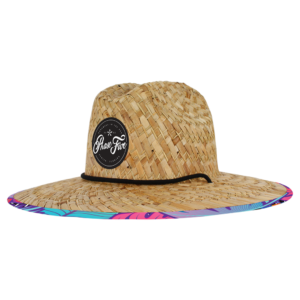 Straw Party Hat Luv